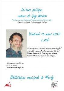 Lecture poétique des textes de Guy Weisse à Marly dans Divers poesie-guy-weisse-bleu3BIS-212x300