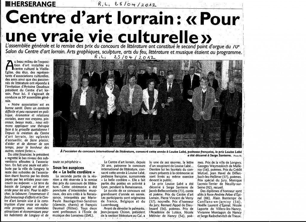 Remise des Prix au Centre d'Art Lorrain dans Coupures de presse ER-0011-1024x744