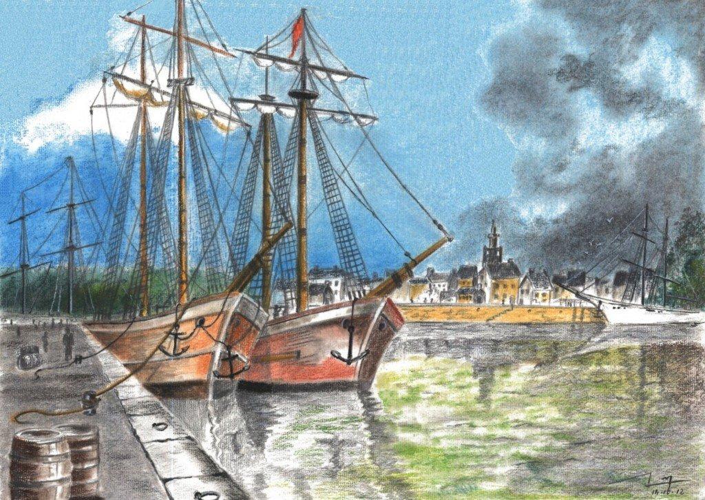 Le port dans * DALSTEIN Gérard dalstein-port