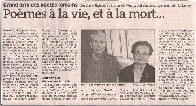Article paru dans l'Est républicain du 22/10/2012 dans Coupures de presse er-002
