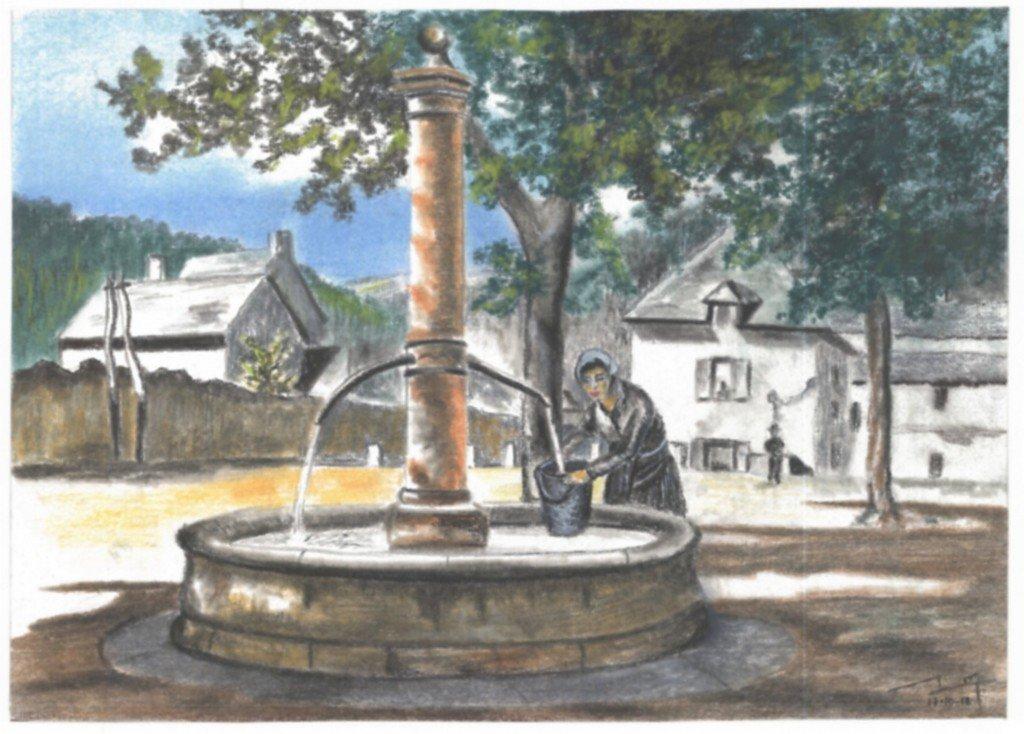 Fontaine dans * DALSTEIN Gérard dalstein-fontaine