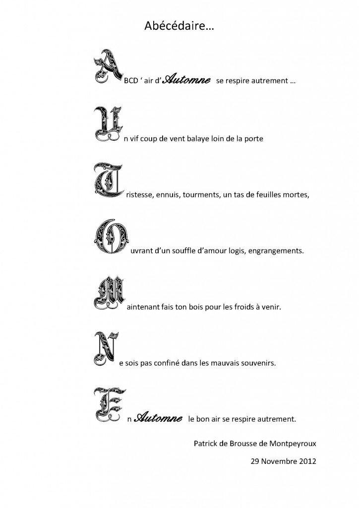 Abécédaire dans * DE BROUSSE DE MONTPEYROUX Patrick de-brousse-abecedaire