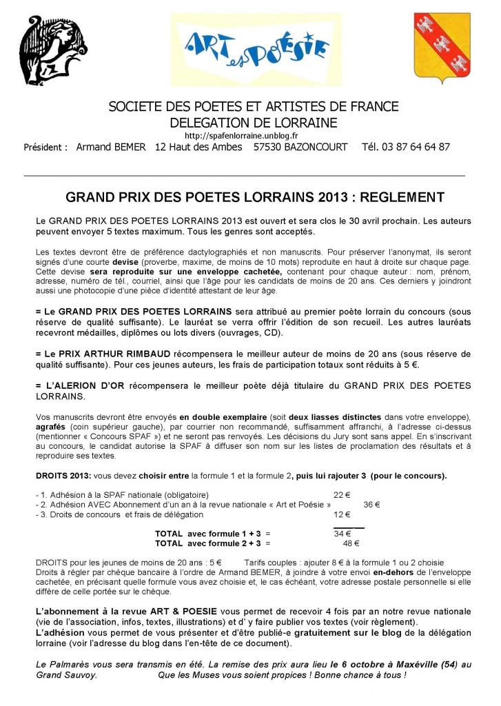 Grand Prix des Poètes lorrains 2013 dans Avis de concours reglement-concours-spaf-lorraine-2013-bis